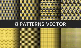 Colección de ilustración de vectores de patrón