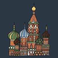 St Basilius Kathedrale in Moskau, Russland