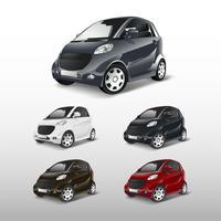 Satz kompakte Hybridauto-Vektoren