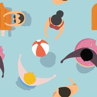 Vector de diseño de sensación de verano