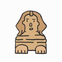 La grande Sfinge di Giza