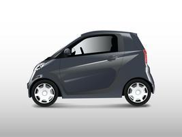 Compact hybrid car