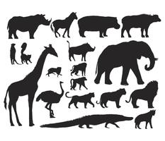 Dieren Illustratie Vector Art Set
