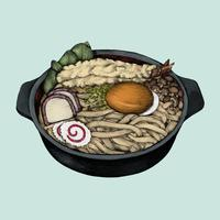 Illustration of Japanese Dish