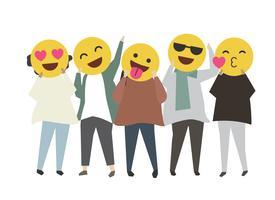 Face smileys och emojis