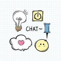 Social media online communication chat