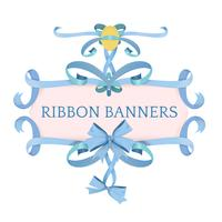 Vector of different ribbon banners