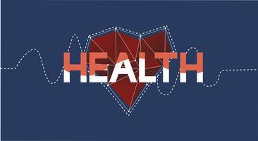 Ilustração, de, equilíbrio saúde