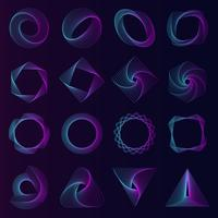Les éléments géométriques abstraits définissent le vecteur