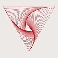 Abstracte dynamische patroon behang vector