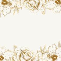 Vintage blommig bakgrund