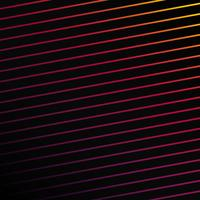 Colorful linear abstract background vector