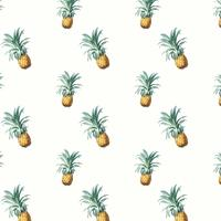 Ananas patroon illustratie