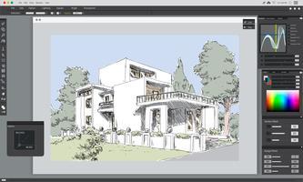 Illustration of house planning