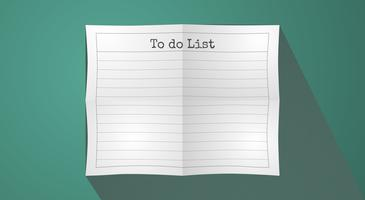 To Do List Planner Reminder Concept