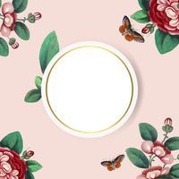 Espacio de copia floral