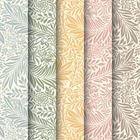 Papel de parede padrão floral