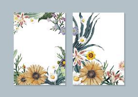 Cartões florais