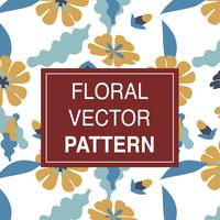 Illustration of flowers pattern