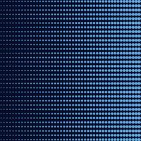 Blue gradient halftone background vector