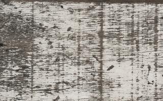 Old white wooden floor planks