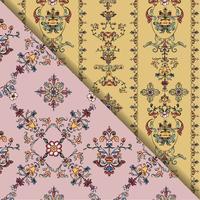Vintage blomstra mönster