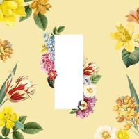 Blom bakgrunds illustration