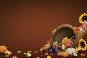 Illustration du festival de Thanksgiving