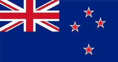 Abbildung der neuseeländischen Flagge