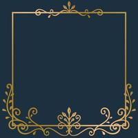 Fondo del marco de oro