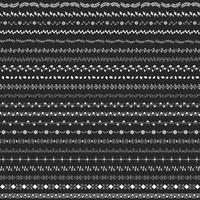 Colección de vectores de elementos de diseño divisor