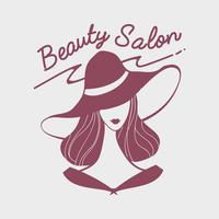 Women's beauty salon logo vector