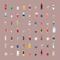 Insamling av dryckesvektorer