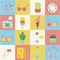 Collection of summer vectors