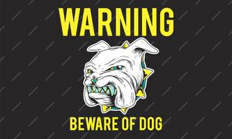 Beware of a Bulldog Grinding Its Teeth