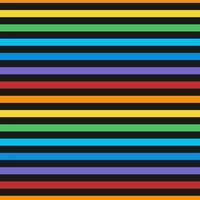 Motif de lignes horizontales colorées sans soudure