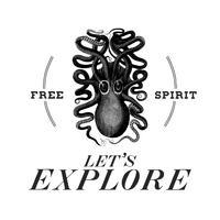Låt oss utforska logo design vektor