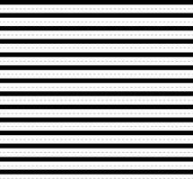 Naadloze zwart-witte vectorpatronen