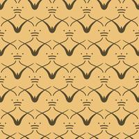 Vintage pattern inspired by The Grammar of Ornament