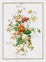 Pappershängen från 1800-talets industriella konst (1851-1853) av Sir Matthew Digby Wyatt (1820-1877). Digitalt förbättrad av rawpixel.