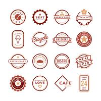 Collection de vecteurs de logo et de badge