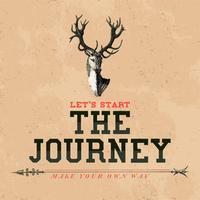 O vetor de design de logotipo de viagem