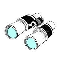 Doodle de binocular