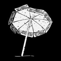 Illustration of summer and beach object