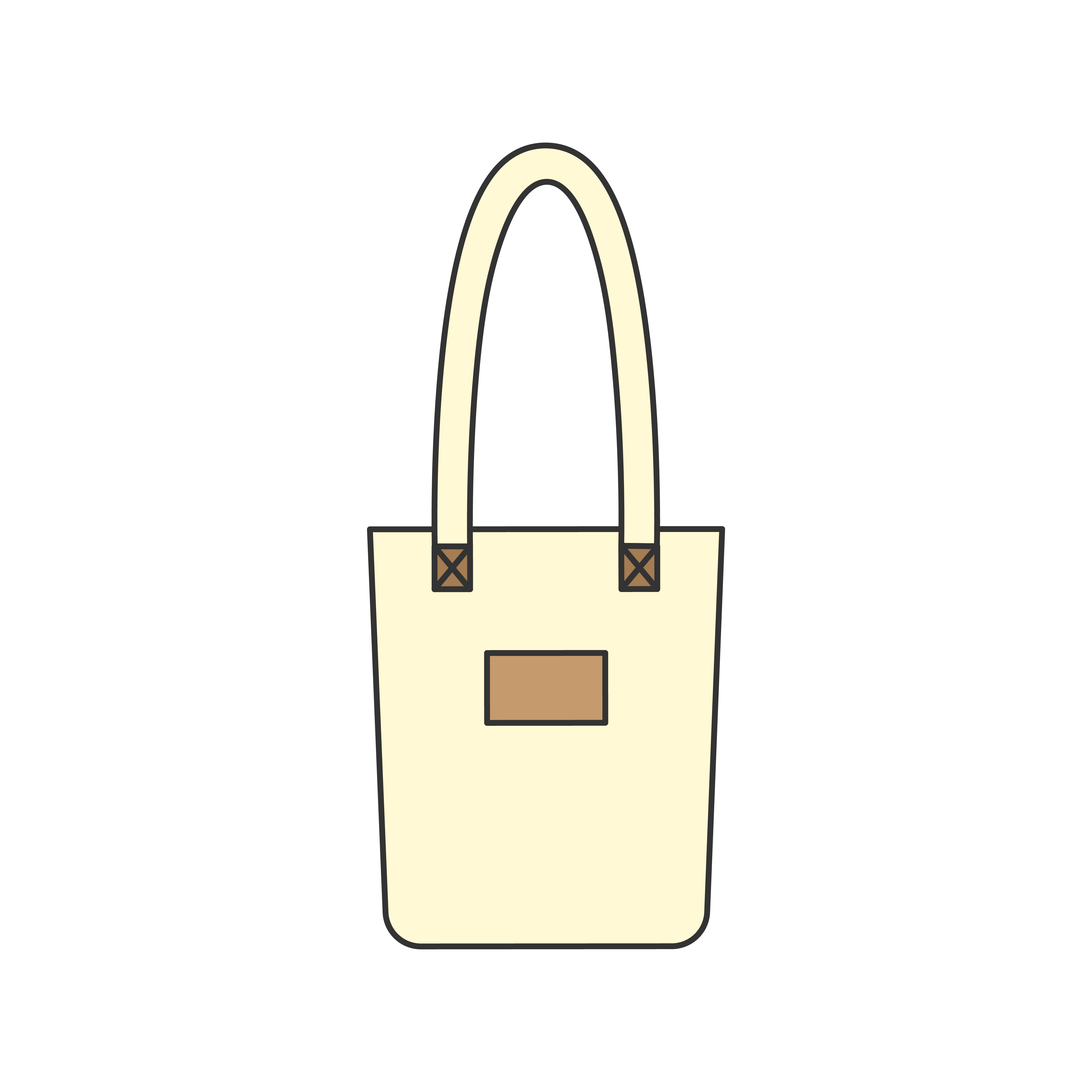 Ilration Of A Tote Bag