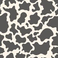 Cow skin seamless pattern vector