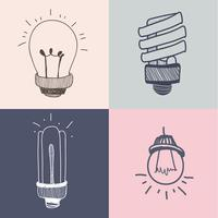 Light bulbs collection