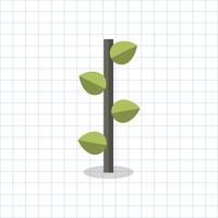 Illustration av ett geometriskt träd
