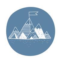 Vektor av berg