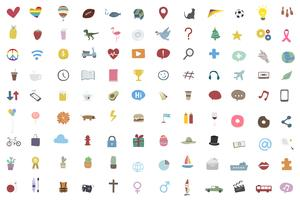 Random and popular icon collection